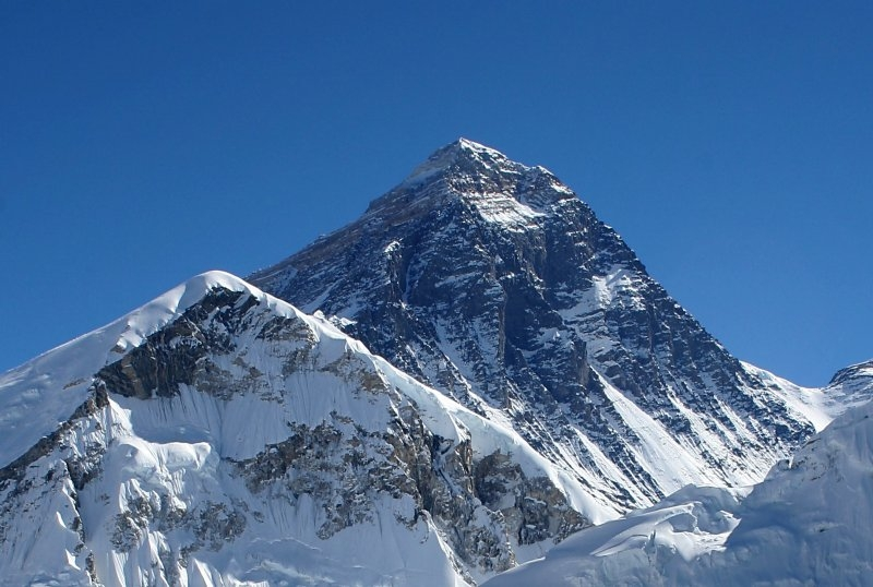 Mount Everest from Kalapatthar (Nepal).