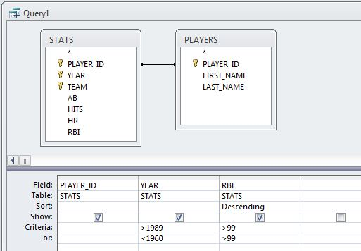 Screen capture of Joining - Stats, Players, Tables
