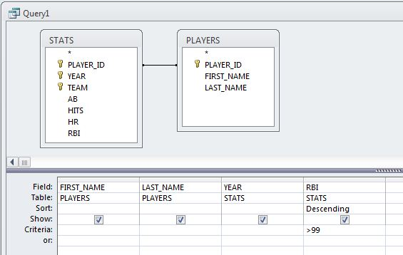 Screen capture of Joining - Reorder, Remove, Fields