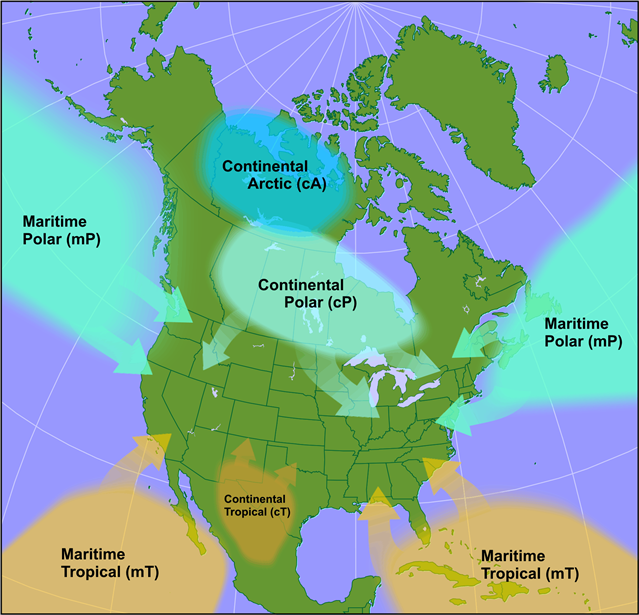 Arctic Air Masses | From the Lee Side
